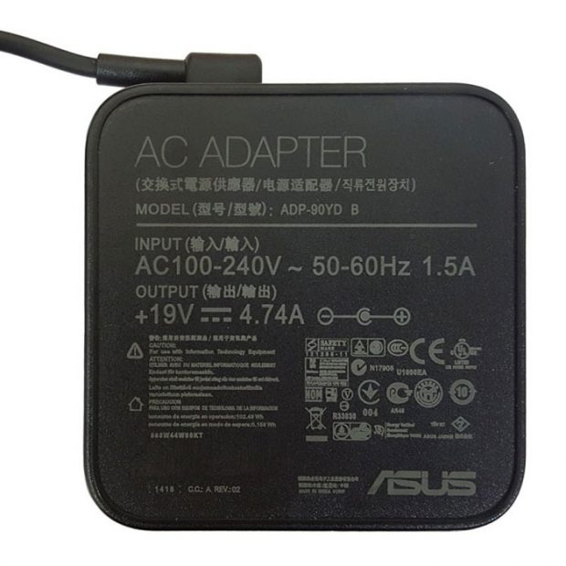 شارژر لپ تاپ ایسوس ۱۹ولت ۴٫۷آمپر ADP-90YD B