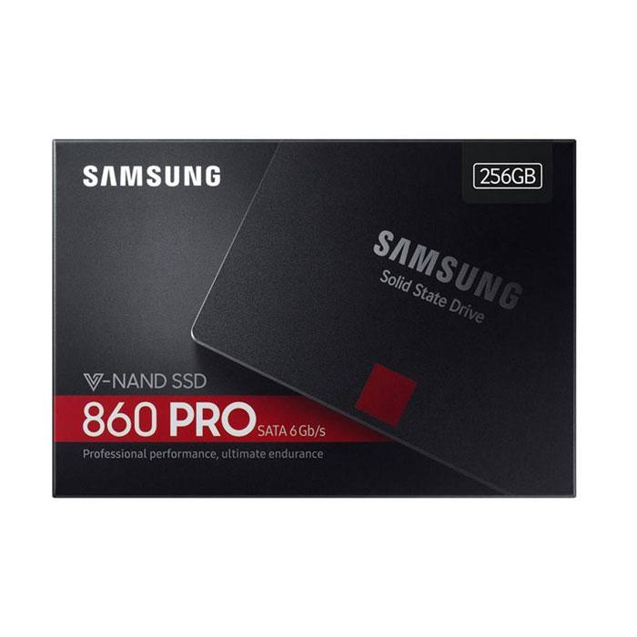 اس اس دی سامسونگ مدل ۸۶۰ pro ظرفیت ۲۵۶ گیگابایت