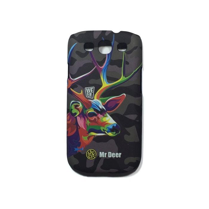 قاب محافظ گوشی سامسونگ S3 با طرح گرافیکی گوزن