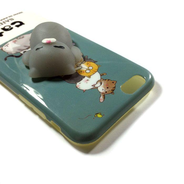 قاب فانتزی اپل iPhone 6/6s با طرح گربه شکمو