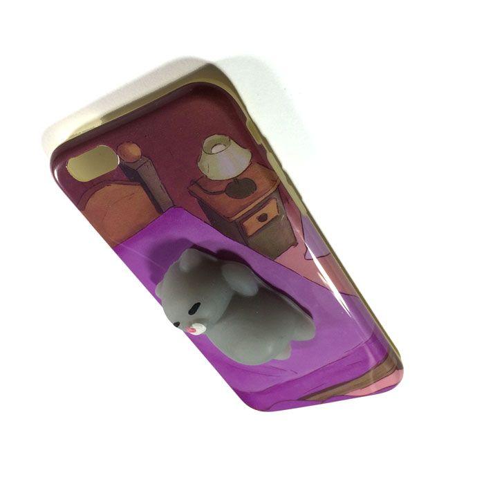 کاور فانتزی اپل iPhone 6/6s با طرح گربه خوابالو