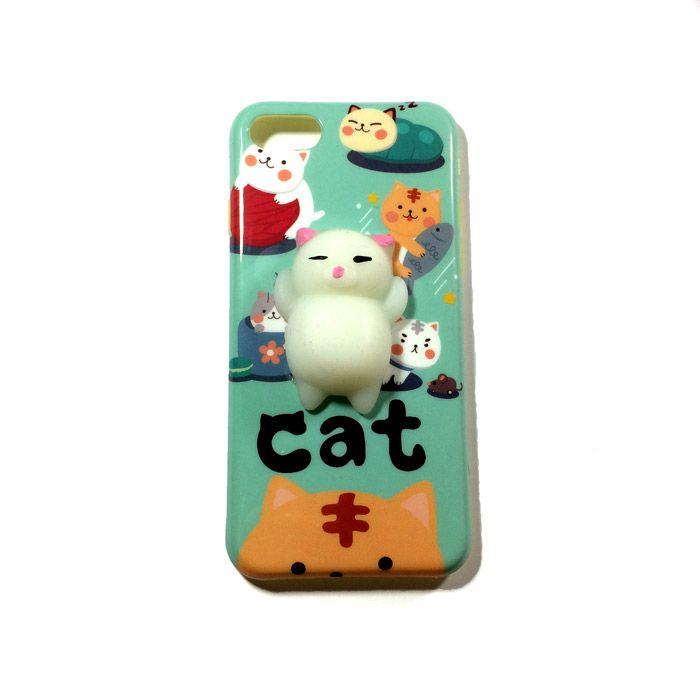 کاور فانتزی اپل iPhone 7/8 با طرح گربه شکمو