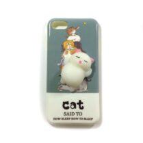 کاور فانتزی با طرح گربه شکمو مناسب اپل iPhone 7/8