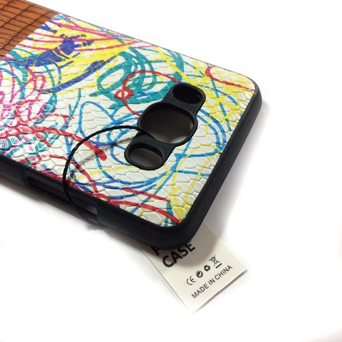 کاور Sibling طرح چرم طرحدار مناسب برای گوشی سامسونگ J510