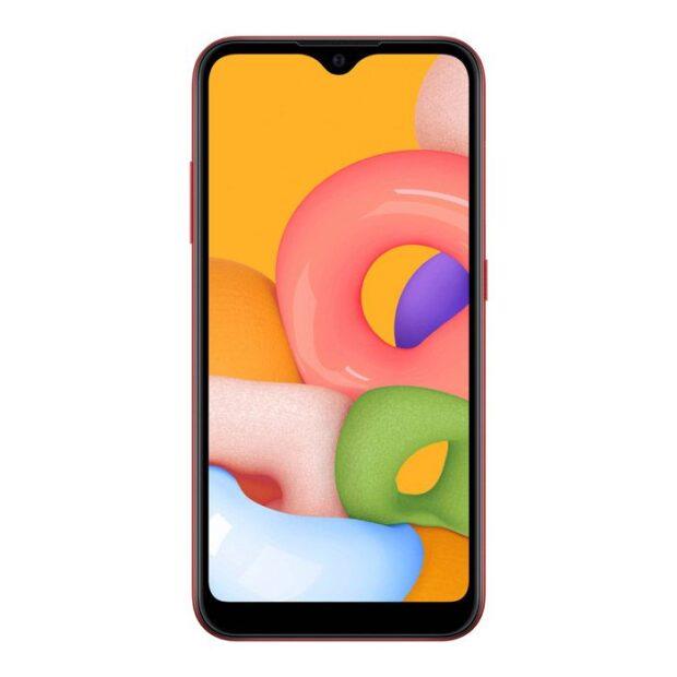 گوشی موبایل سامسونگ مدل Galaxy A01 دو سیم کارت ظرفیت ۱۶ گیگابایت