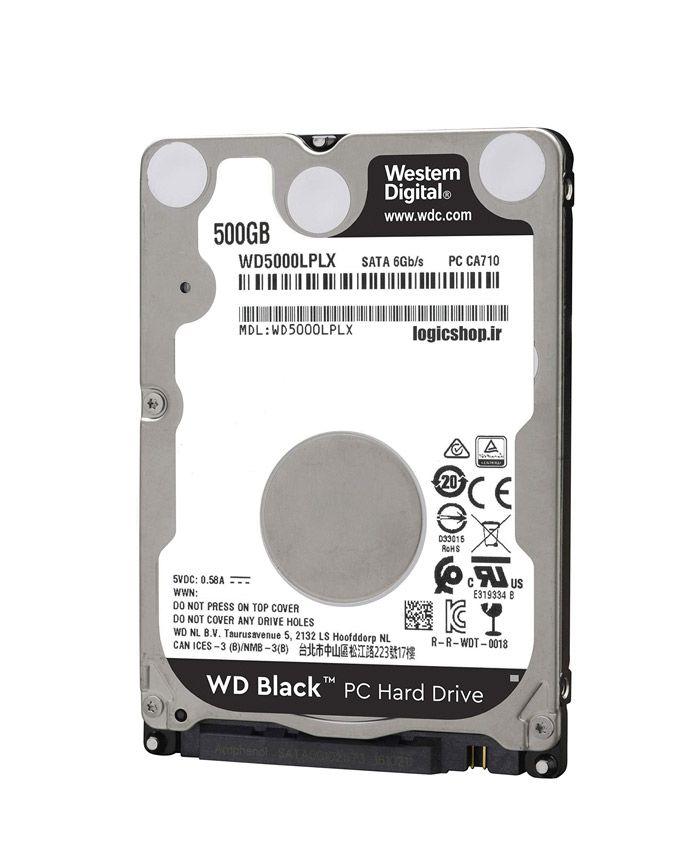 هارد اینترنال لپ تاپ وسترن دیجیتال مدل WD5000LPLX ظرفیت 500 گیگابایت