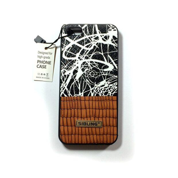 کاور Sibling طرح چرم مناسب برای گوشی Iphone 5s / se
