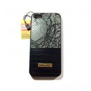 کاور Sibling طرح چرم رنگ مشکی مناسب برای گوشی Iphone 5s / se