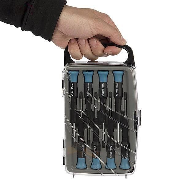 مجموعه ۸ عددی پیچ گوشتی ساعتی پاورست مدل TH1008