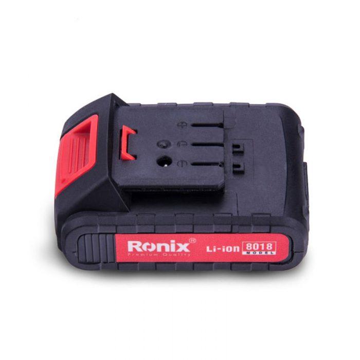 دریل پیچ گوشتی شارژی رونیکس کد 8014