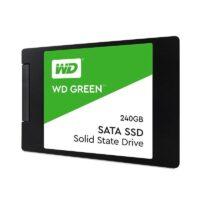 حافظه اس اس دی وسترن دیجیتال مدل گرین با ظرفیت ۲۴۰ گیگابایت