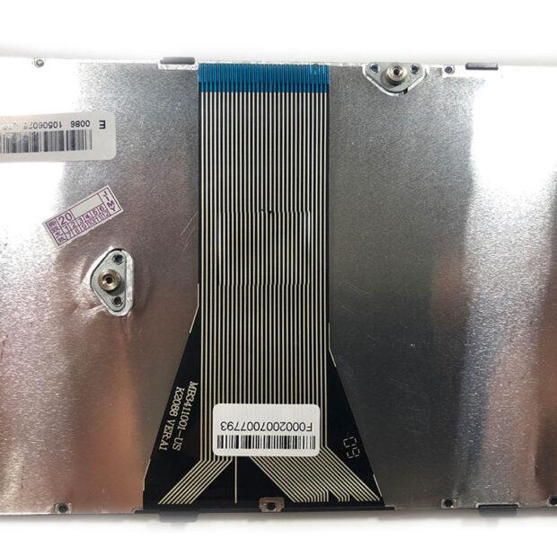 کیبورد لپ تاپ لنوو IdeaPad G50-70 با فریم نقره ای