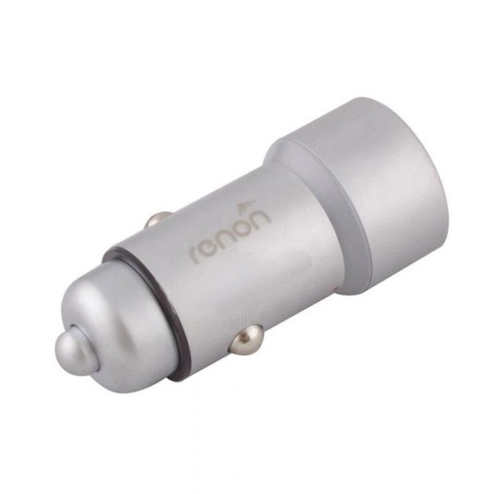 شارژر فندکی رنون مدل RN 181 به همراه کابل تبدیل USB-C