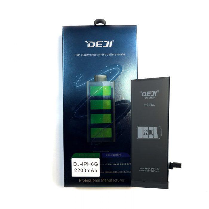 باتری گوشی Iphone 6 تقویت شده 2200 میلی آمپر برند Deji