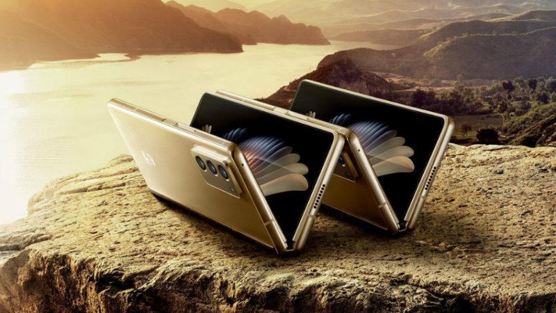 گوشی تاشوی سامسونگ W21 5G