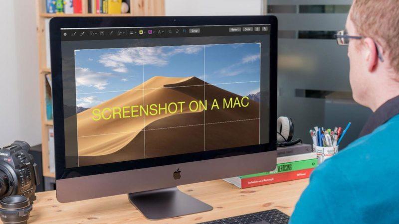 اسکرین شات در مک