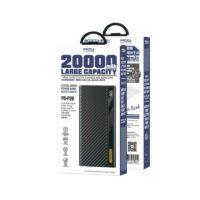 proda PD P26 05 شارژر همراه پرودا مدل PD-P26 ظرفیت 20000 میلی آمپر ساعت
