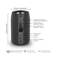 Zealot S32 Portable Bluetooth Speaker