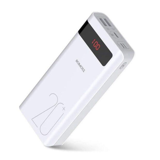 شارژر همراه روموس مدل PSN20 ظرفیت 20000