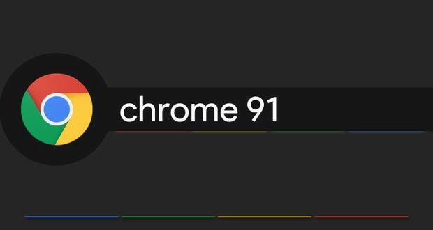 گوگل کروم ۹۱