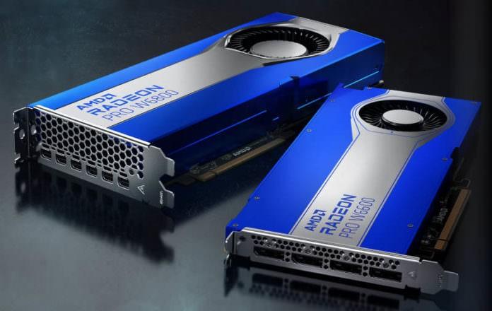 amd radeon pro w6800 and w6800 AMD دو کارت گرافیک رادئون پرو W6600 و W6800 را معرفی کرد